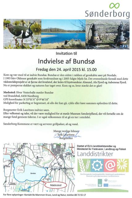 Invitation til indvielse