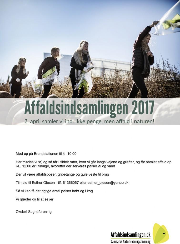 affaldsindsamling plakat2017_a4 og  tekst